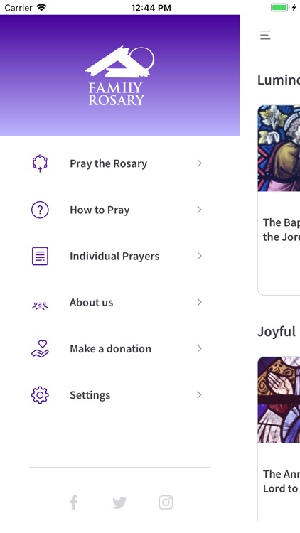 Family Rosary's Mobile Rosary screenshot-1