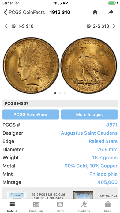 PCGS CoinFacts Coin Collectingのおすすめ画像1