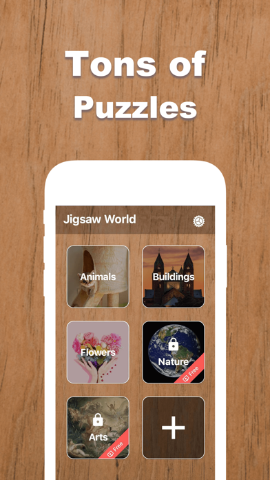 Jigsaw World - Puzzle Games App Download - Games - Android