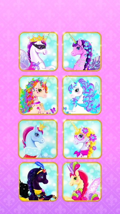 Unicorn Dress Up - Girls Games screenshot-3