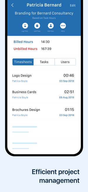 Invoice & Time Tracking Zoho on the App Store