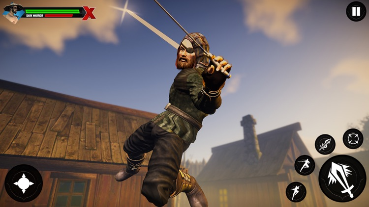 Shadow Ninja Warrior Assassin screenshot-4