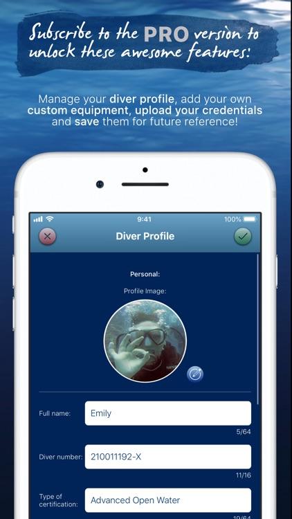 Breathe - Smart Scuba Dive Log screenshot-8