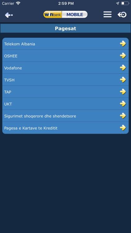 winbank Mobile Albania screenshot-3