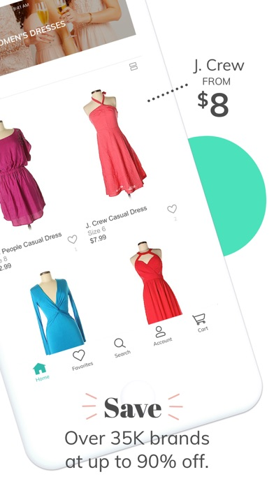 Screenshot for thredUP | Shop Up to 90% Off in United States App Store
