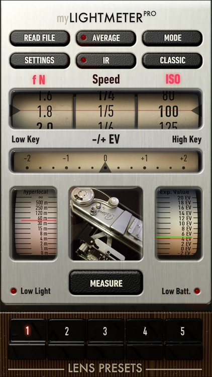 myLightMeter PRO screenshot-0