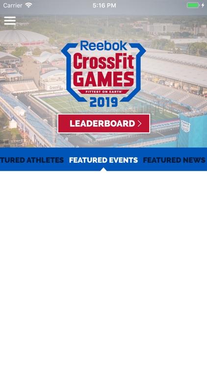 CrossFit Games Event Guide screenshot-4