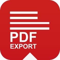 PDF Export - PDF Converter