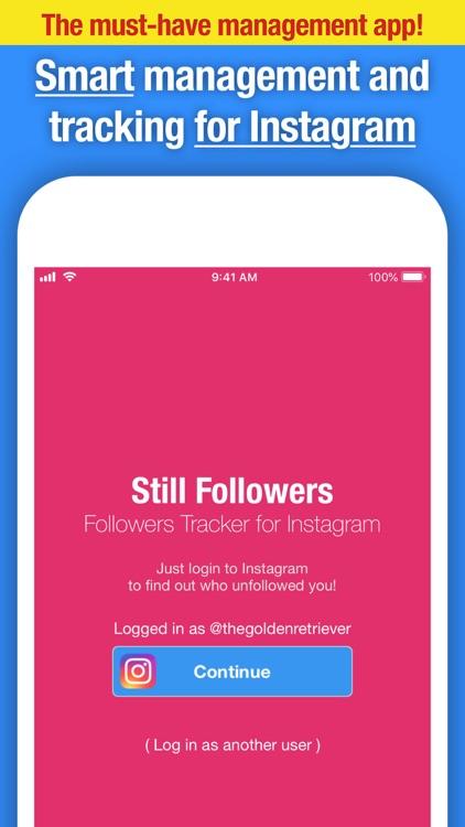 Still Followers for Instagram screenshot-4