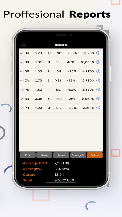 EZCalc Diamonds screenshot-4