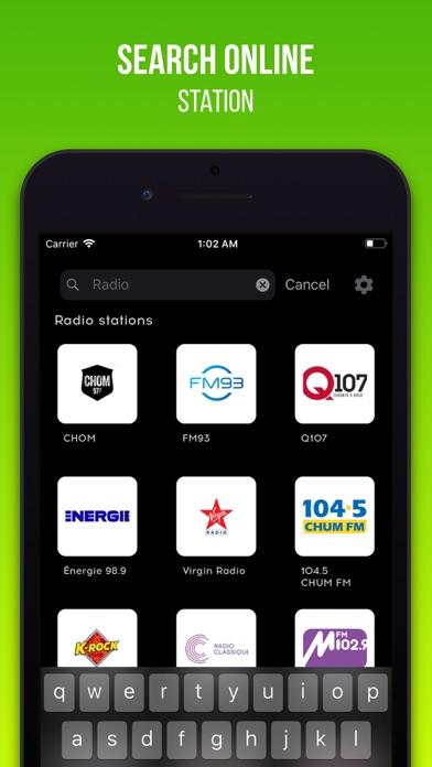 Radio Stations Tuner screenshot four