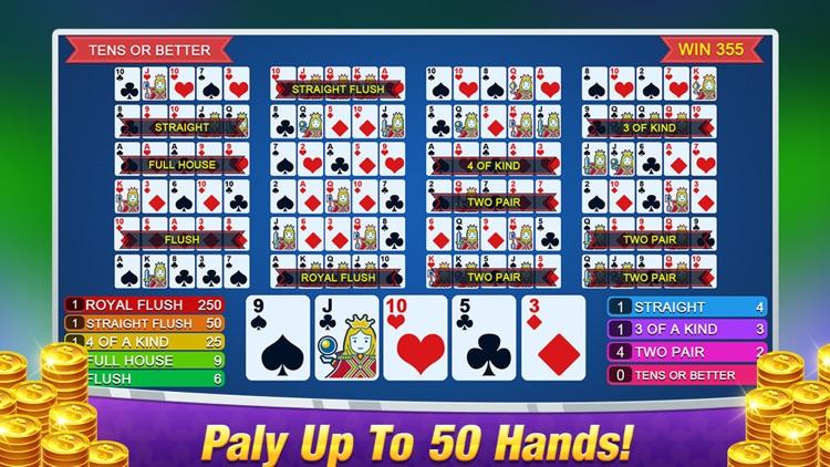 Multi Casino Video Poker Games screenshot-4