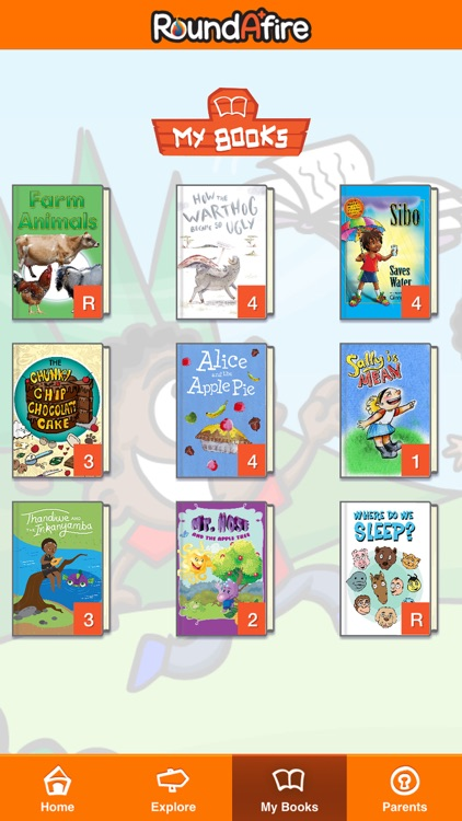 Roundafire - Children's Books screenshot-7