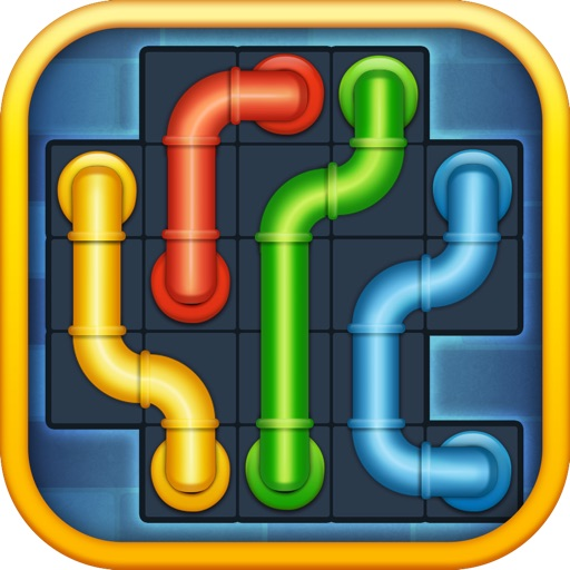 Line Puzzle: Pipe Art free software for iPhone and iPad