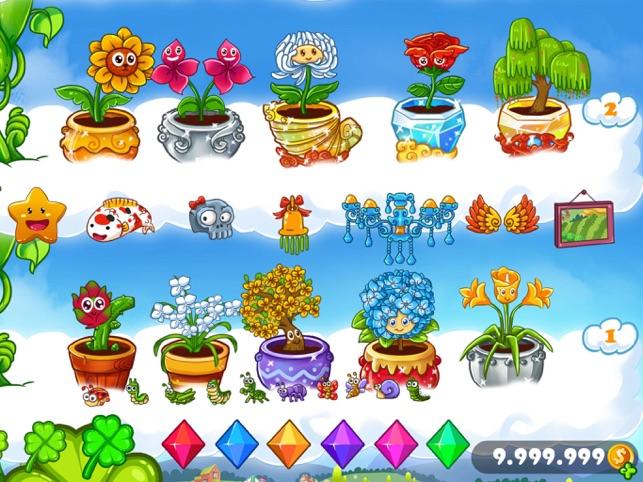 Satz Von Gartenpflanzen Mit Blumen Für Sie Design Und Computerspiel Stock  Vektor Art und mehr Bilder von Ast - Pflanzenbestandteil - iStock