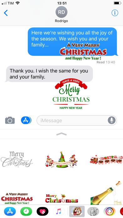 Christmas and Happy New Year screenshot one