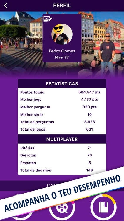 Quizit - Trivia Português screenshot-3