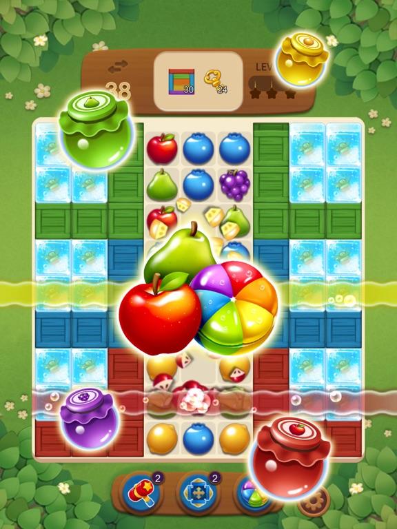 フルーツマジック:甘いパズルマッチのおすすめ画像4