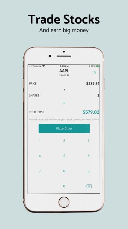 Stock Market Simulator Game screenshot-7