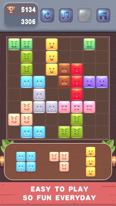 Block Puzzle - Cute Emoji screenshot 5