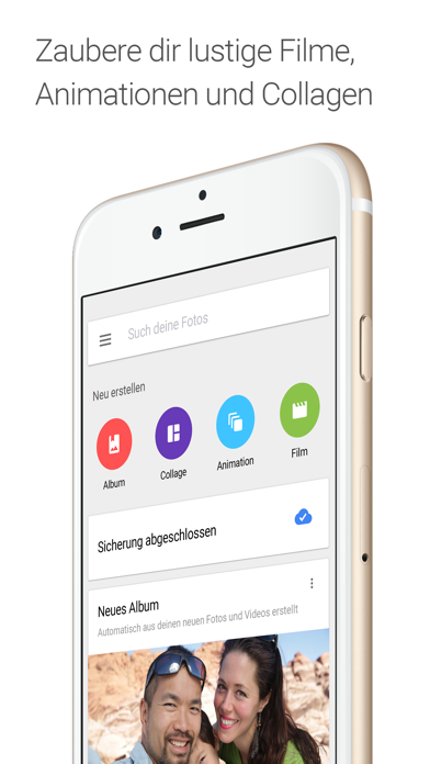 Screenshot for Google Fotos in Austria App Store
