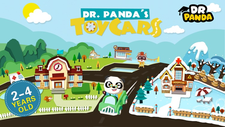 Dr. Panda Toy Cars screenshot-0