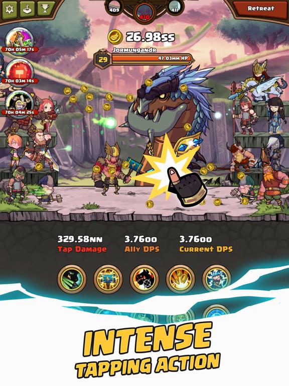 Thor : War of Tapnarok screenshot 9