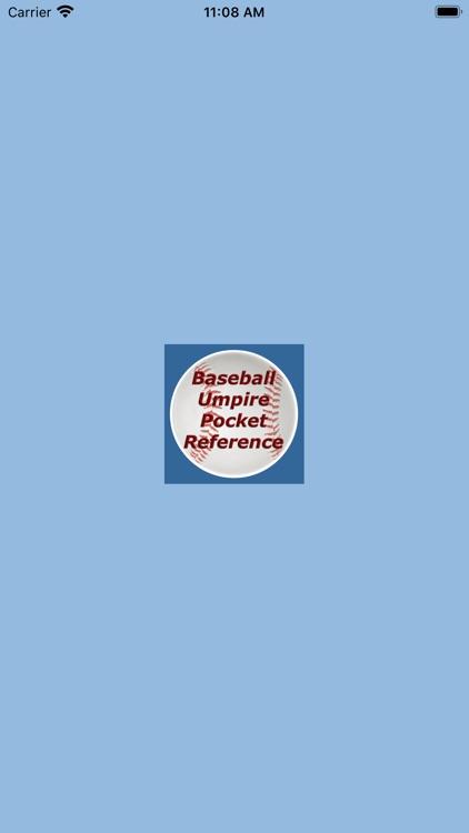 Baseball Umpire Pocket Ref