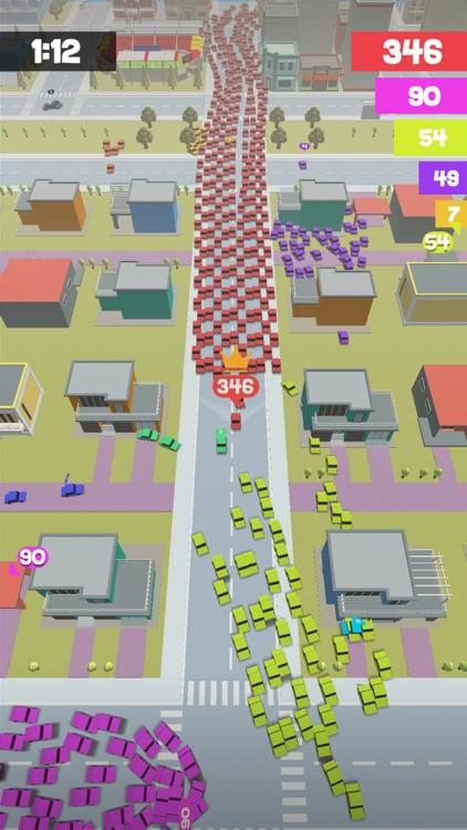 Crowd Drift Cars City io screenshot-3