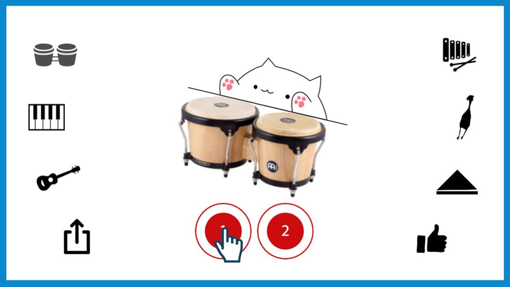 Bongo Cat Musical Instruments App For Iphone Free Download Bongo