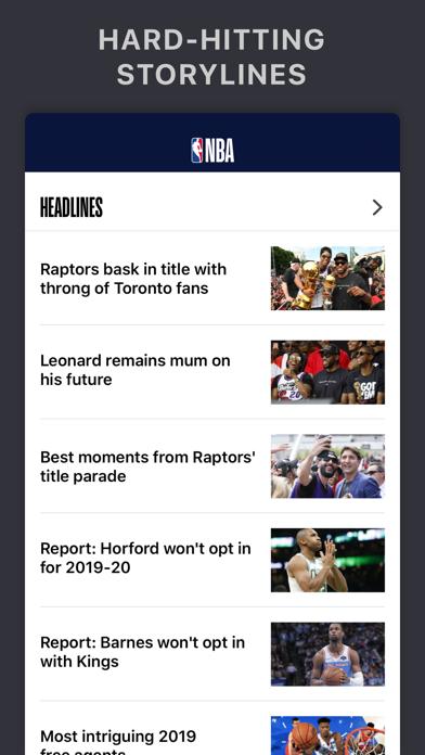 NBA: Official App Screenshot