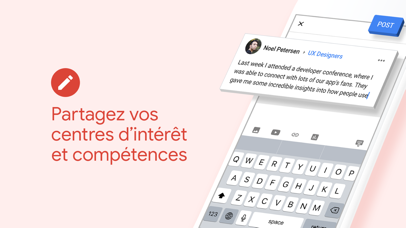 Screenshot for Google+ pour G Suite in France App Store