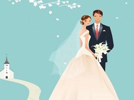 The WeddingDT is a small sticker, which are show the 50 Wedding DT sticker in cartoon