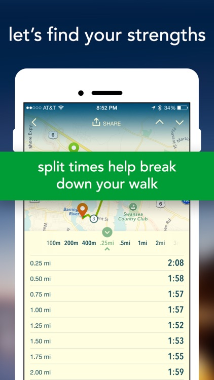 Vima - GPS Walk Tracker