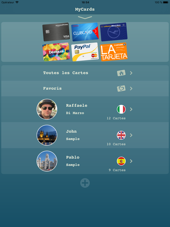 Screenshot #4 pour My Cards Pro - Portefeuille