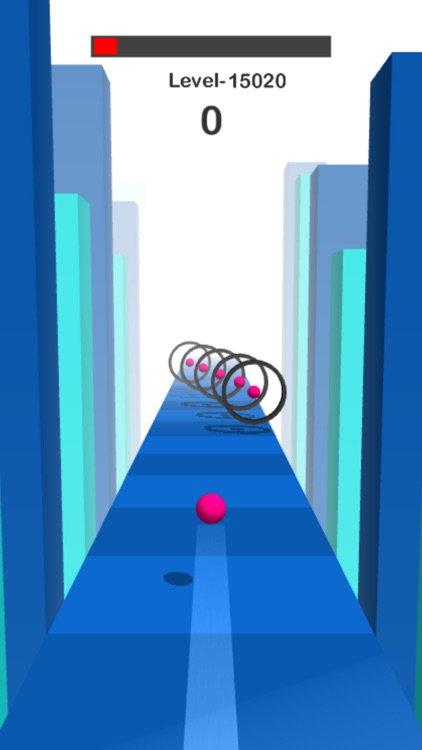 Amaze Ball 3d - Fly and Dodge