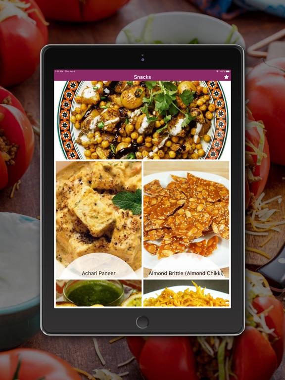 Snacks Recipes - English screenshot 5