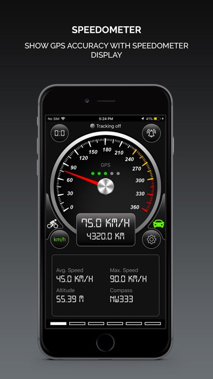 Smart GPS Speedometer screenshot-0