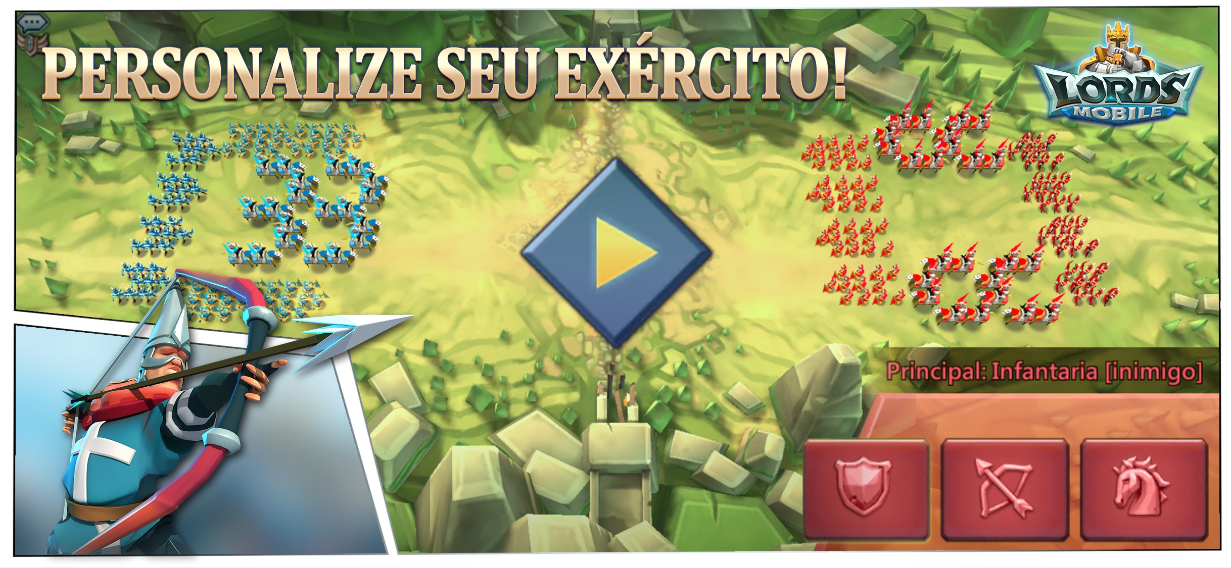 Screenshot do app Lords Mobile: War Kingdom