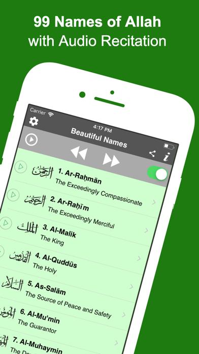 99 Names of Allah (Pro) screenshot one