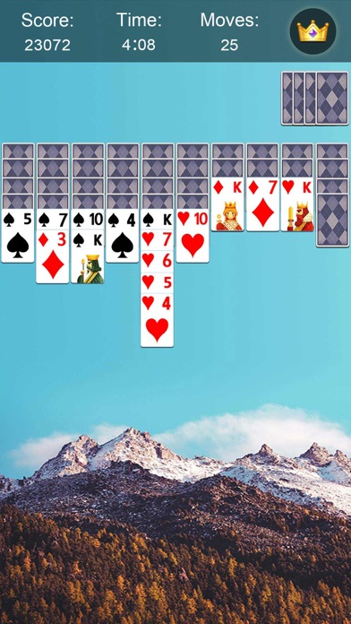 Spider Solitaire・ Screenshot on iOS