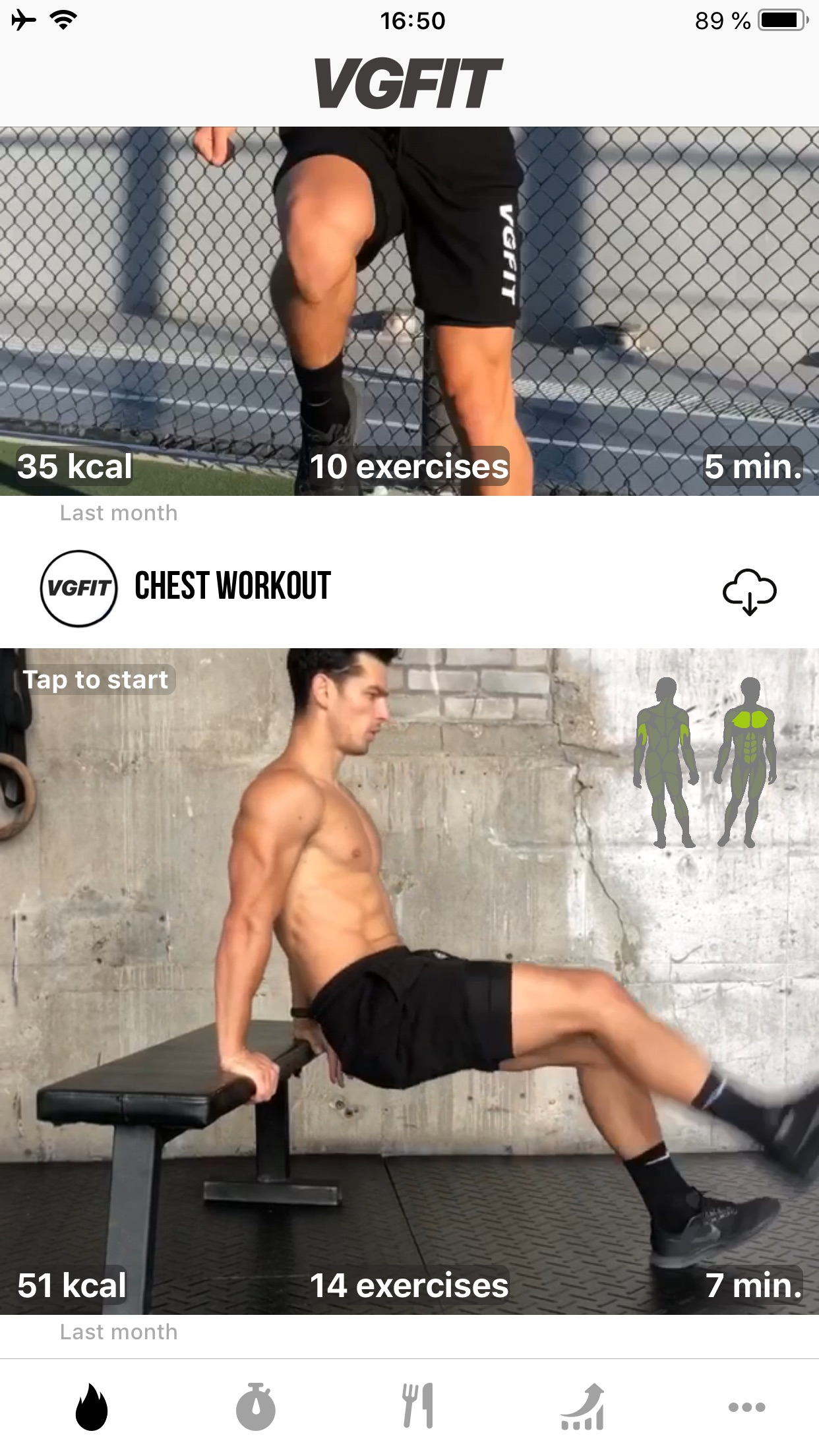 VGFIT Screenshot