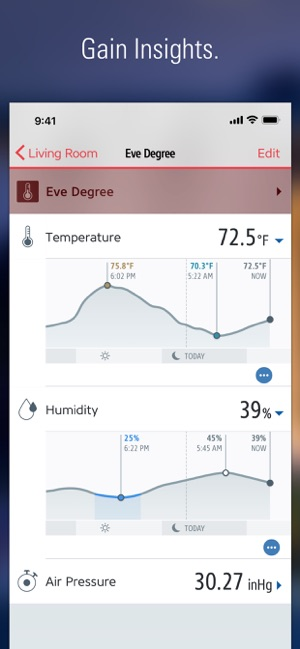 Eve für HomeKit Screenshot