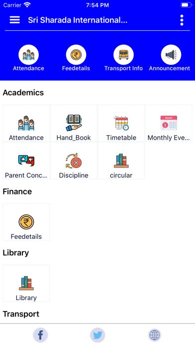 Sri Sharada Institutions screenshot 1