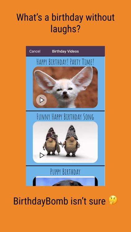 BirthdayBomb screenshot-4