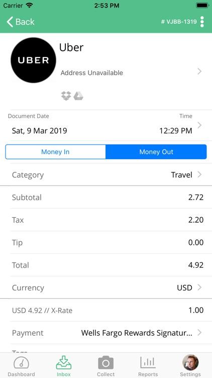 Veryfi Receipts OCR & Expenses screenshot-3