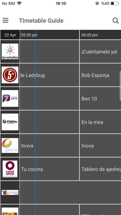 TV Mexico EPG screenshot-5