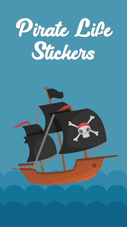 Pirate Life Stickers