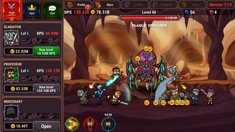 Taptic Heroes: Monsters Attack screenshot-3