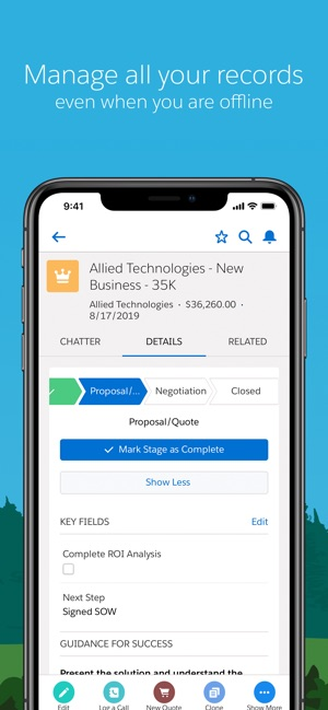 Salesforce on the App Store